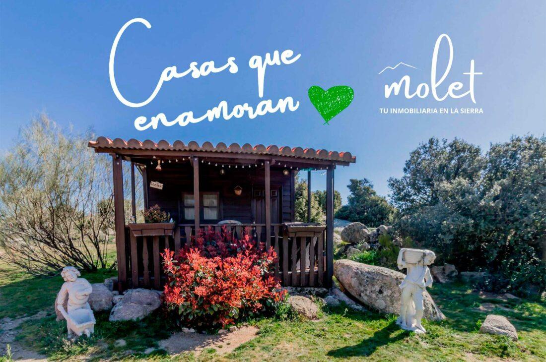 Finca rústica con residencia canina, con vivienda entre Robledo de Chavela y Fresnedillas de la Oliva.
