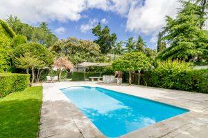 Casa con piscina y espectacular jardín en Collado Villalba